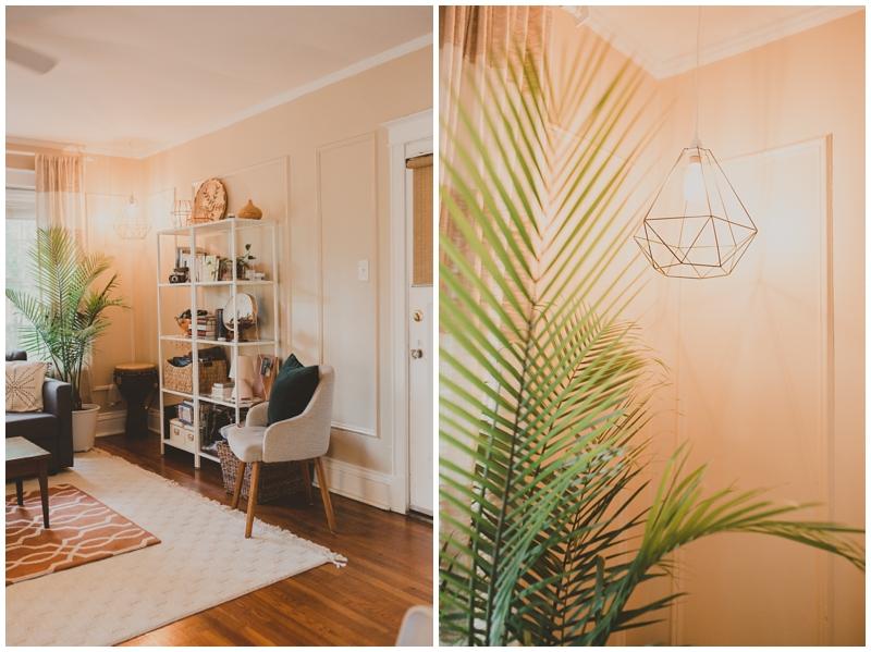 St Louis rental apartment decor
