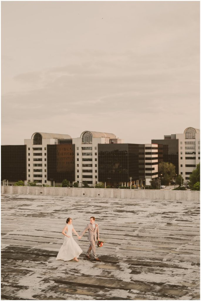 Rooftop Wedding St Louis Missouri Photography by Pattengale