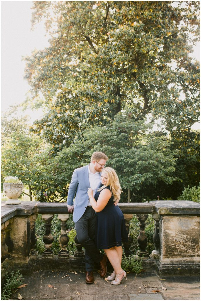 Romantic historic estate engagement in Richmond by Pattengale