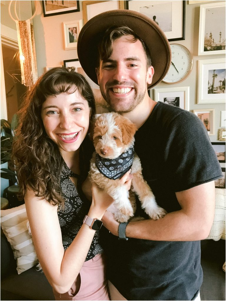 Pattengale Photography adopts Mini Aussiedoodle Puppy