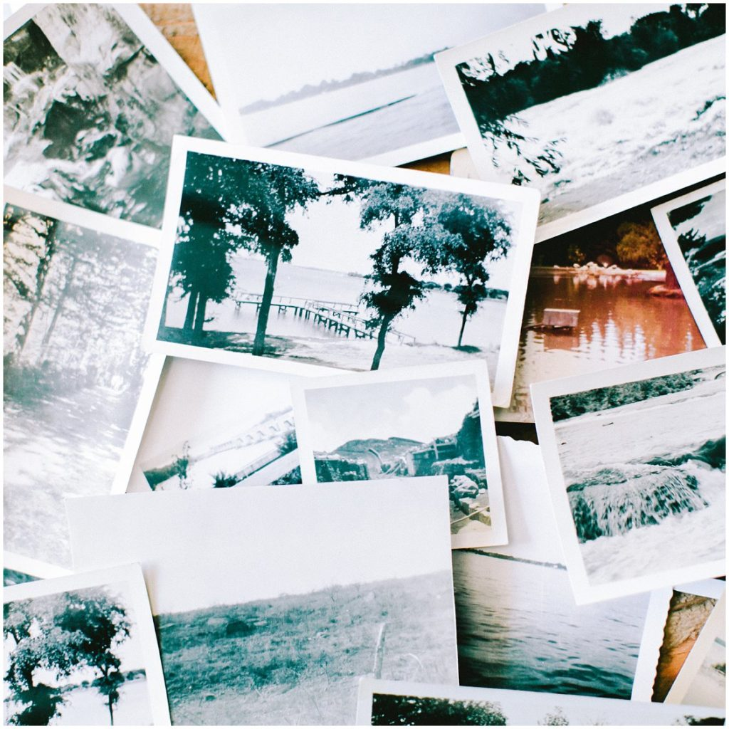 Vintage photographs as inspiration board for St Louis based Pattengale Photography