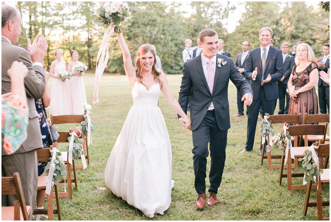 An elegant boho outdoor wedding at historic Seven Springs Farm & Manor in Richmond Virginia by Pattengale Photography