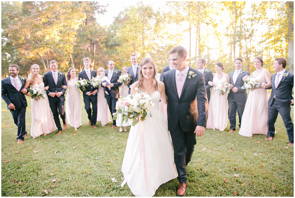 An elegant boho fall wedding at historic Seven Springs Farm & Manor in Richmond Virginia by husband and wife team Pattengale Photography