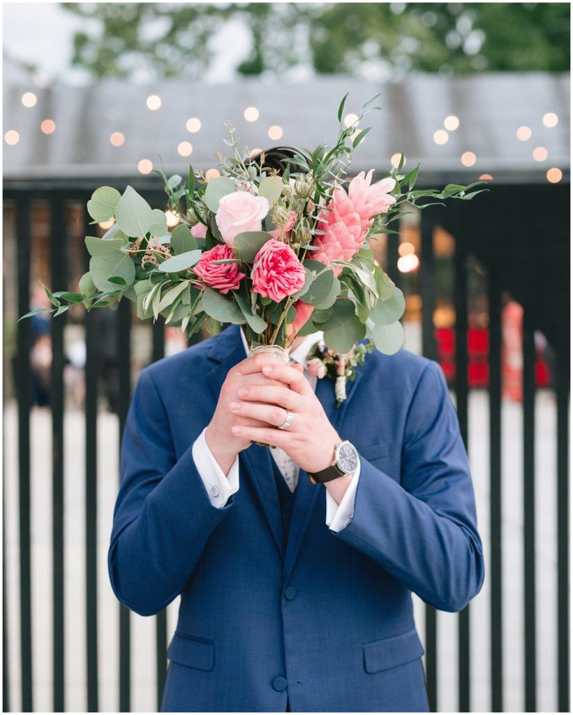 A colorful modern St Louis Wedding at Angad Arts Hotel by husband and wife team Pattengale Photography