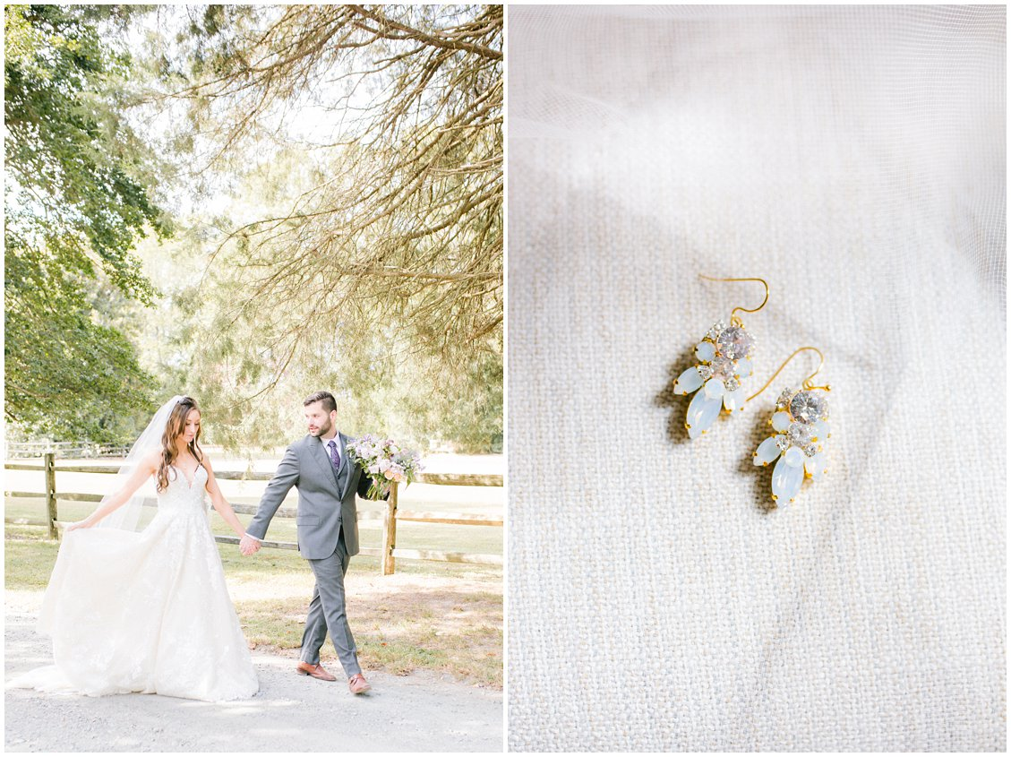 Intimate outdoor wedding in Richmond Virginia captured by Tara & Stephen of Pattengale Photography
