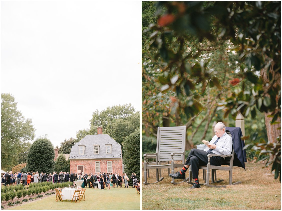 Intimate outdoor Jewish wedding at Seven Springs Farm & Manor Richmond VA captured by Tara & Stephen of Pattengale Photography