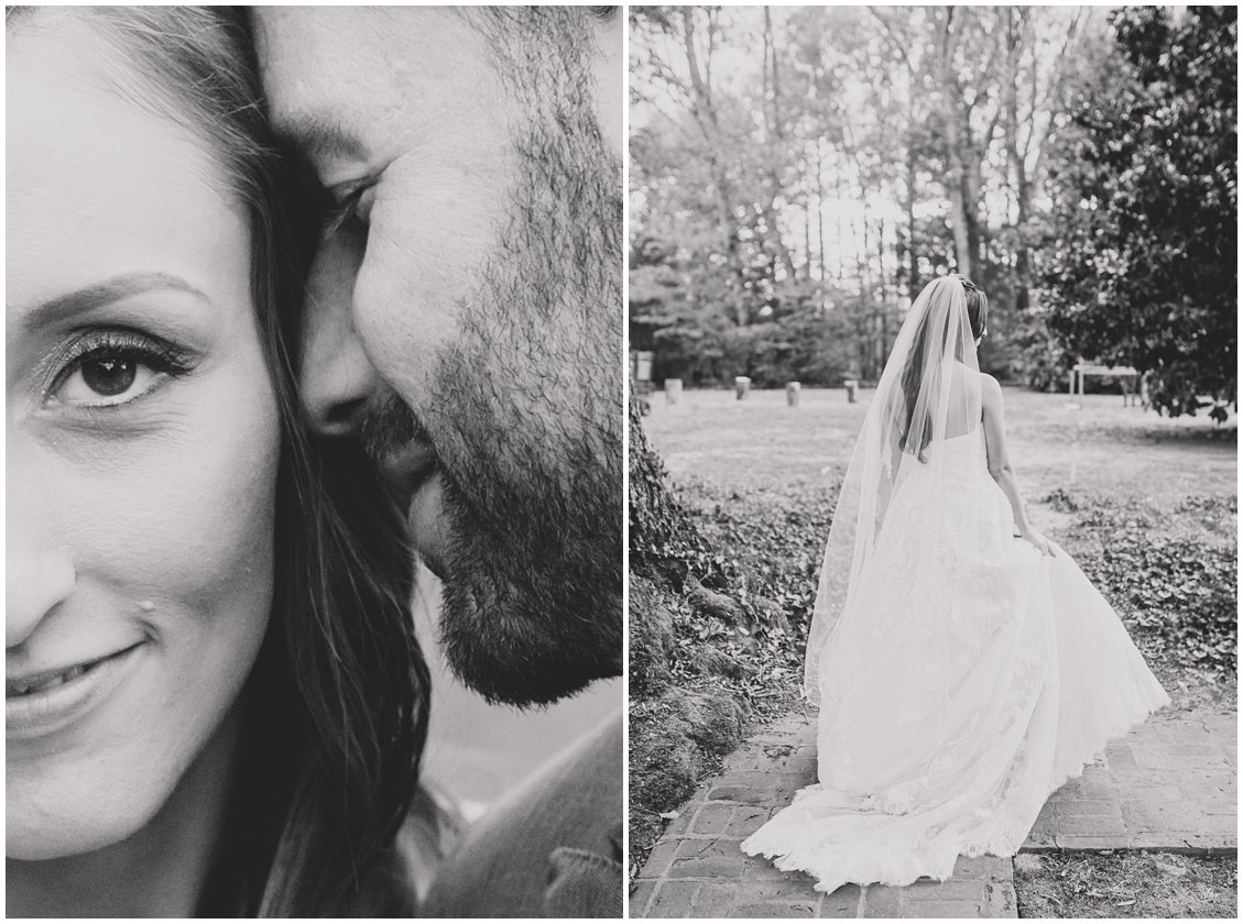 Untraditional fall outdoor wedding at Seven Springs Farm & Manor captured by Tara & Stephen of Pattengale Photography