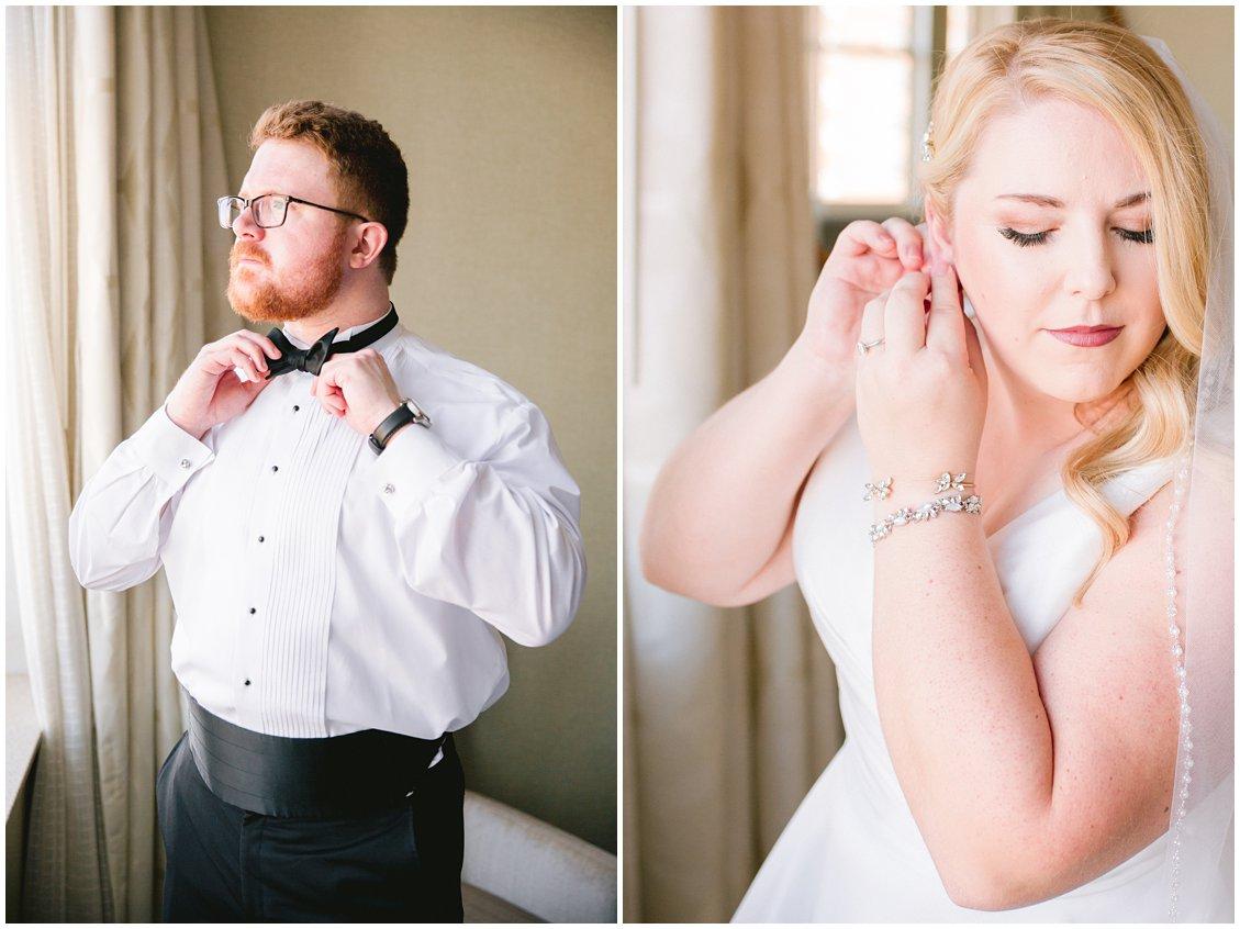Elegant bridal blue shoes and champagne bridesmaids in Richmond VA by Tara & Stephen
