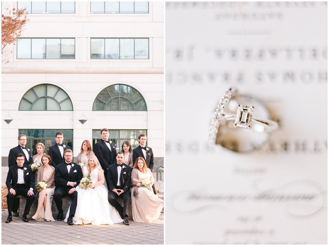 An elegant Richmond Virginia winter wedding by Tara & Stephen - a husband and wife adventure photography team