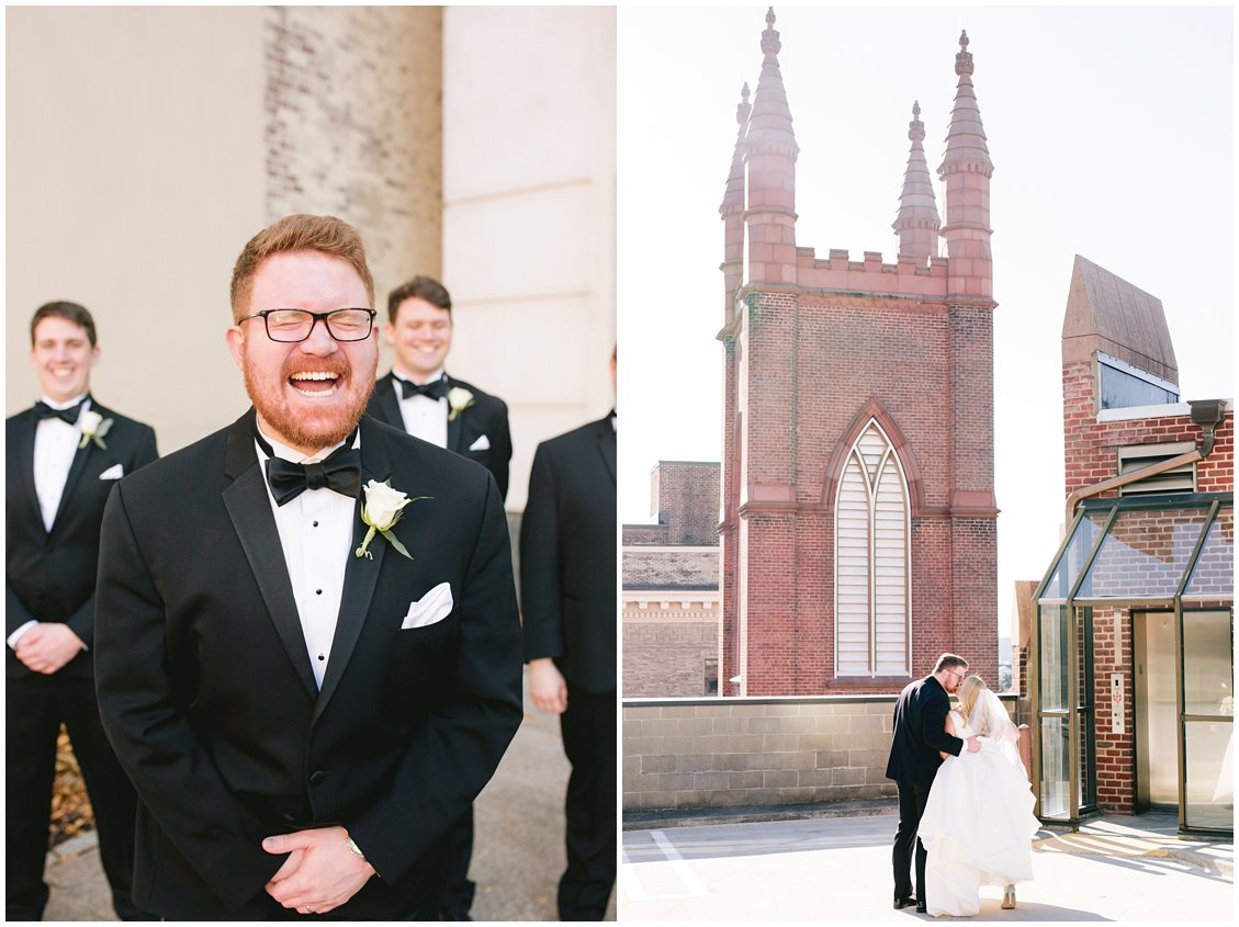 Downtown Richmond wedding photographer - Tara & Stephen with Pattengale Photography