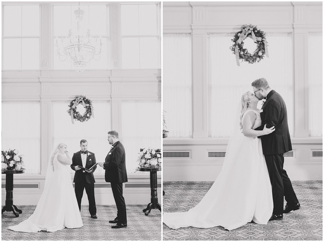 A downtown Richmond Virginia winter wedding by Tara & Stephen - a husband and wife adventure photography team
