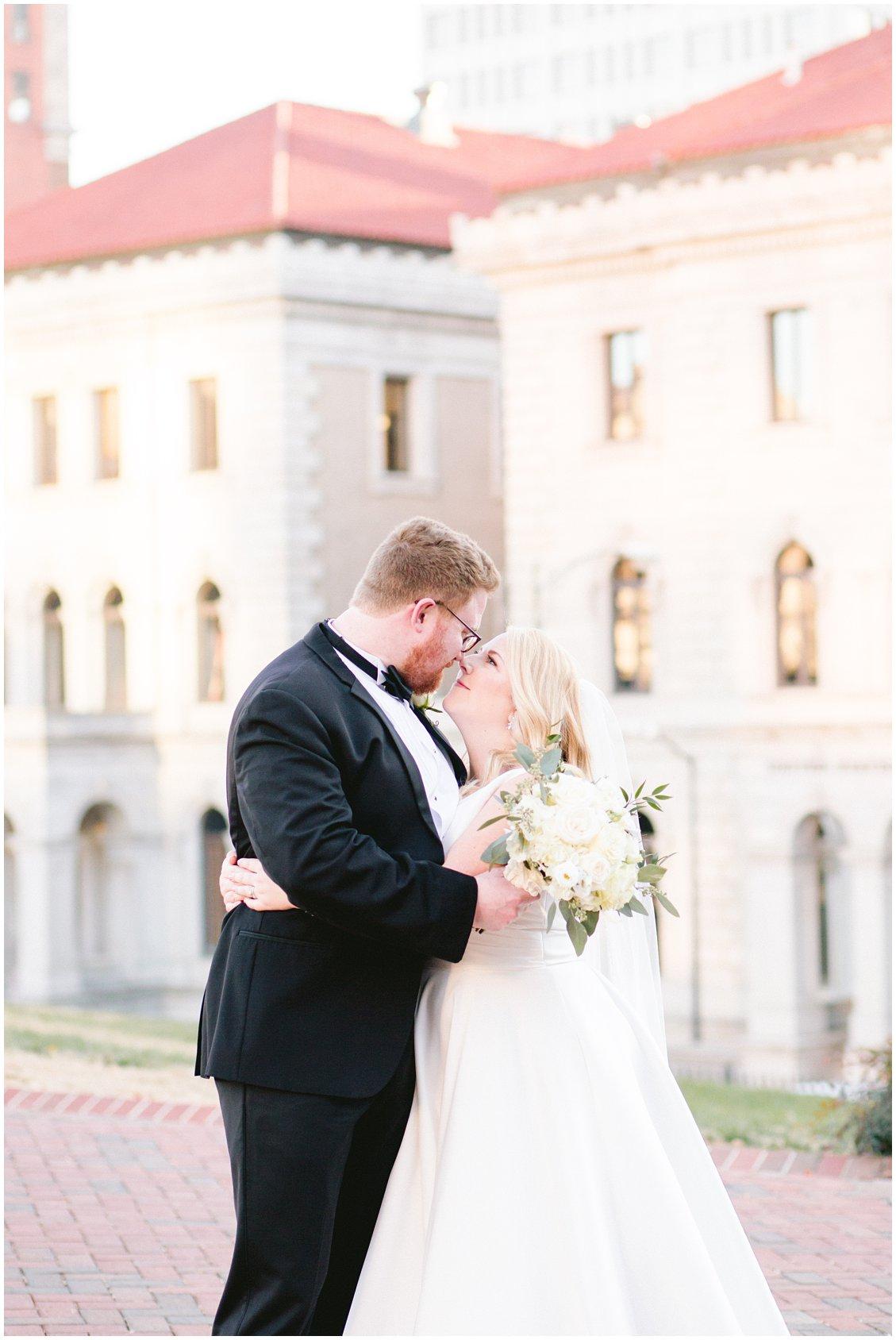 A downtown Richmond Virginia winter wedding by Tara & Stephen - a husband and wife adventure photography team