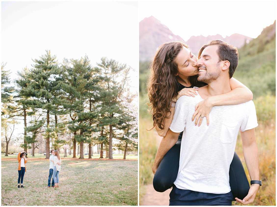St Louis wedding photographer traveling to the Maroon Bells in Aspen Colorado and working from home