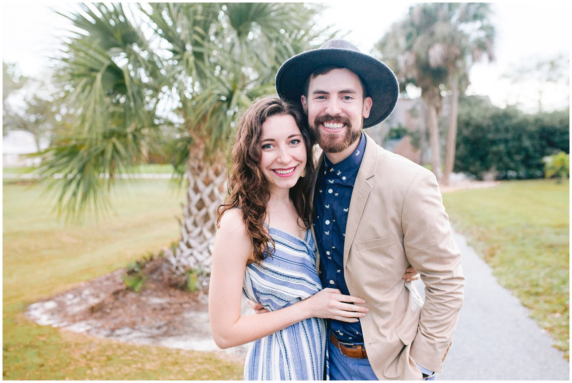 Pattengale Photography husband and wife duo travels to Florida for intimate outdoor wedding